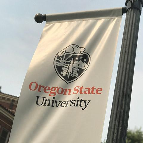 Oregon State University banner.
